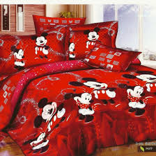 red mickey and minnie mouse bedding sets for christmas holiday red mickey and minnie mouse bedding sets for christmas holiday with home decor