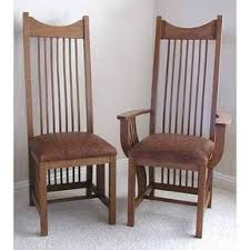 Mission Style Dining Chairs Woodworking Project Paper Plan To Build Mission Style Dining Chair