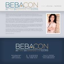 Finanzamt Bad Segeberg Bebacon Logo Design Designonclick Com