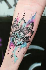best 25 watercolor lotus tattoo ideas on pinterest lotus