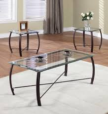 Luxurius Glass Top Coffee And End Tables For Budget Home Interior