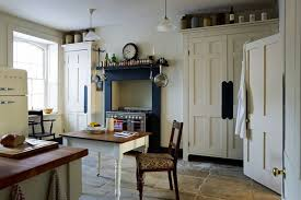 blue u0026 cream period scheme country kitchens images design