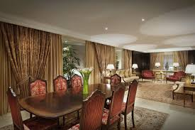 Drawing Room Wood Furniture Royal Suite In Bahrain The Ritz Carlton Bahrain Hotel U0026 Spa