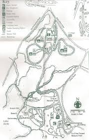 New York Thruway Map by Oquaga Creek State Park