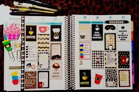 coffee planner stickers printable free printable coffee themed planner stickers sler kit