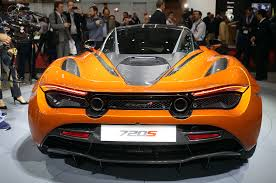orange mclaren 720s first look 2018 mclaren 720s automobile magazine