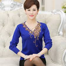 clothing for elderly online shop 2017 in the elderly fall and winter clothing