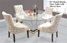 z gallerie borghese dining table round dining table with mirror base