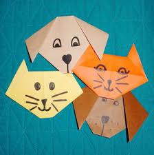 Origami Pets - beginner s origami tutorial origami cat and favecrafts