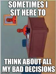 Spiderman Desk Meme - spiderman computer desk meme imgflip