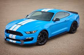 blue mustang grabber blue 2017 ford mustang shelby gt 350 coupe