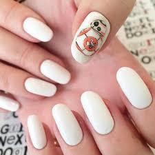 bb8 star wars nail art premiere style board pinterest nail