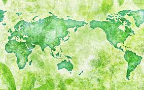 The Best Map Of The World by Green Map Of The World Wallpaper Digital Art Wallpapers 54471