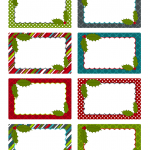 free christmas labels u2013 happy holidays with christmas tags
