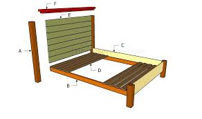 how to make a queen size platform bed frame queen bed frame with