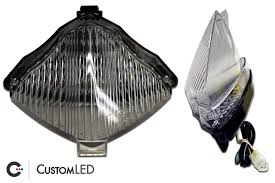 2004 2006 Yamaha Yzf R1 Blaster X Integrated Led Tail Light Custom Led