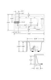 Normal Bathtub Size Bathtub Dimensions Home Design Health Support Us