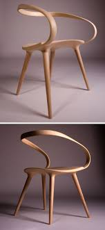 Design For Bent Wood Chairs Ideas This Flowing Curved Wooden Armchair Was Designed By Jan Waterston