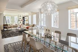 dining large glass dining room table