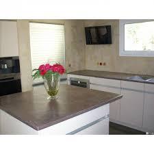 plan de travail cuisine effet beton béton ciré cuisine et plan de travail beton concernant