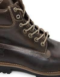 timberland earthkeepers heritage waterproof boots in brown for men
