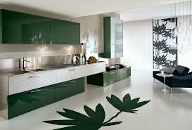 kitchen design red round tube kitchen cabinet in modern