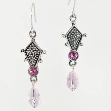 Pink Chandelier Earrings Rancho Trading Company Ea435pk Pink Chandelier Earrings