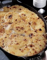 cuisine gratin dauphinois gratin dauphinois à la crème et au lait pour 8 personnes recettes