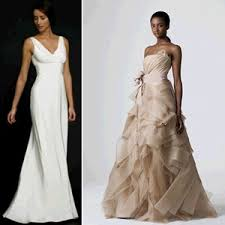rent designer wedding dresses including monique lhuillier from