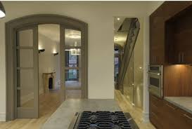 if your interior doors are white can you use dark trim or
