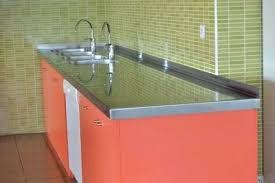 protege plan de travail cuisine plaque protection plan de travail cuisine cracdence en inox plan