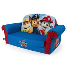 flip open sofa children s flip open sofa with paw patrol themed marshmallow the