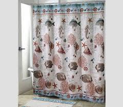 Coastal Shower Curtains Coastal Shower Curtains Eloquent Delft Air Flamingo