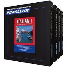 italian cd language courses 1 4 learn to speak italian pimsleur