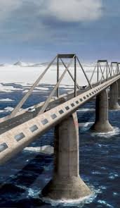 232 best spectacular bridge designs images on pinterest bridges epic bridge to connect america with russia so you can road trip from nyc to