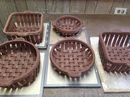 woven clay baskets google search clay pinterest clay
