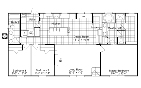 Wide House Plans by 3 Bedroom Double Wide Floor Plans Descargas Mundiales Com