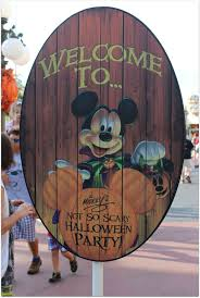 scary halloween signs mickey u0027s not so scary halloween party 2015 mnsshp food fun