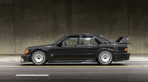 1990 mercedes 190e mercedes 190e evo ii auctioned in u s sells for big