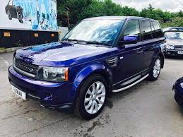 range rover sport diesel used blue land rover range rover sport for sale swansea