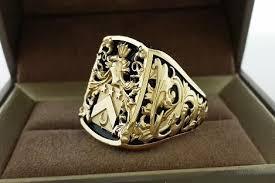 custom rings for men one of a mens ring signet ring crest ring custom made for