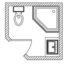 basement bathroom floor plans tiny bathroom floor plan home renovations