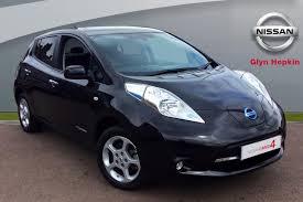 nissan leaf black edition used nissan leaf cars for sale motors co uk