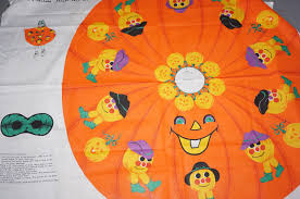 Halloween Material Fabric Pumpkin Cape Panel Cotton Fabric Mask Halloween Make It Yourself