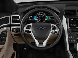2012 Ford Exploer 2012 Ford Explorer Steering Wheel Interior Photo Automotive Com