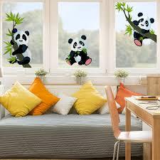 fensterfolie kinderzimmer de fenstersticker pandabären set kinderzimmer bär