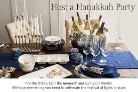 where to buy hanukkah decorations new hanukkah decorations pottery barn