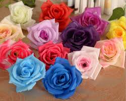 500 pcs mixed color artificial flowers decor plumeria frangipani