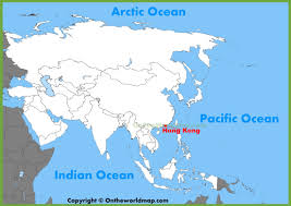Maps Of Asia Hong Kong Location On The Asia Map