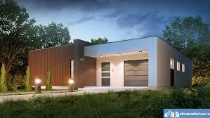 Plat Home Proiect De Casa Cu Parter Si Acoperis Plat 277proiecte De Case